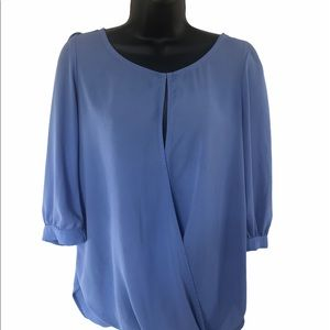 Francescas Collection Twisted Hem Tunic Size Small